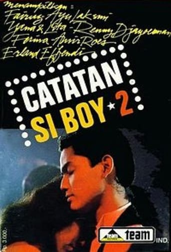 Poster of Catatan si Boy 2