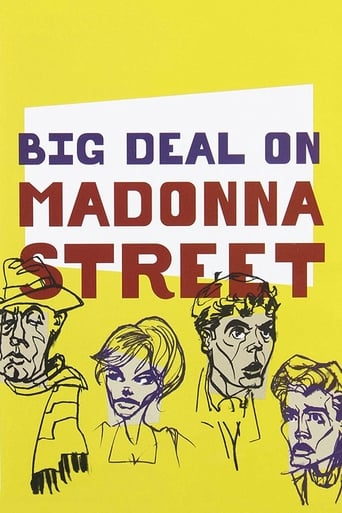 Watch Big Deal on Madonna Street Free Movie Online