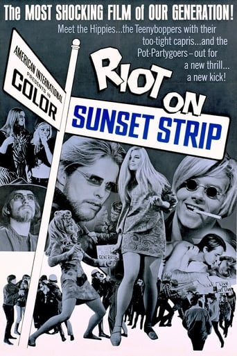 Poster of Riot on Sunset Strip