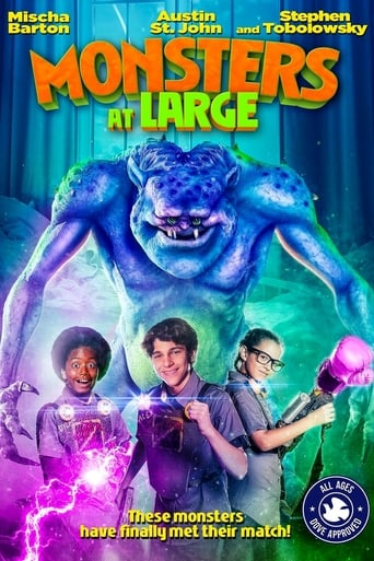 Poster of Monsters at Large