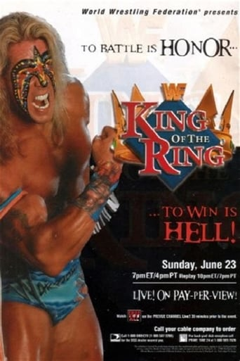 Poster of WWE King of the Ring 1996
