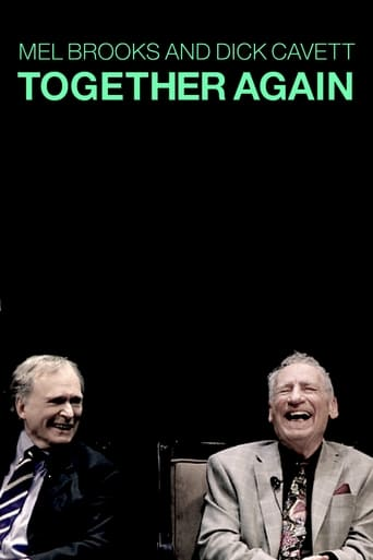 Poster of Mel Brooks and Dick Cavett Together Again