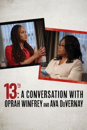 Poster of 13th: A Conversation with Oprah Winfrey & Ava DuVernay