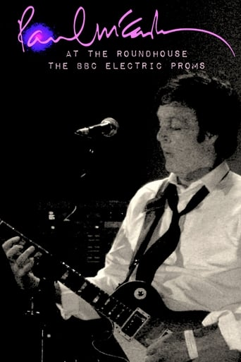 Poster of Paul McCartney at the Roundhouse – The BBC Electric Proms 2007