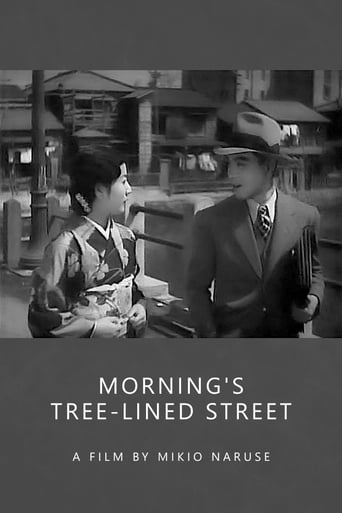 Poster of Morning's Tree-Lined Street