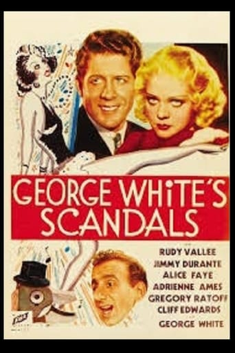 Poster of George White's Scandals