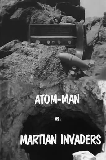 Atom Man vs. Martian Invaders Movie Poster