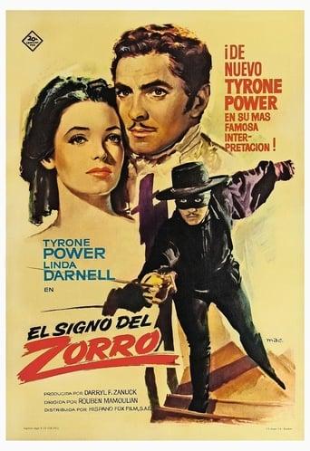 Poster of El signo del Zorro