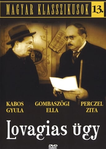 Poster of Lovagias ügy