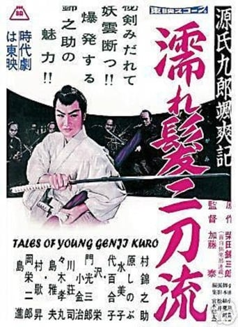 Poster of 源氏九郎颯爽記 濡れ髪二刀流
