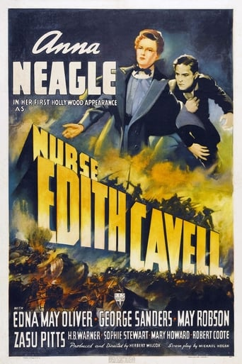 Poster of Nurse Edith Cavell