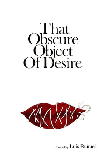 Poster of That Obscure Object of Desire