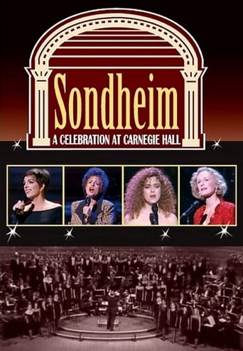 Poster of Sondheim: A Celebration at Carnegie Hall