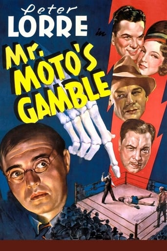 Poster of Mr. Moto's Gamble
