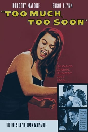Poster of Too Much, Too Soon