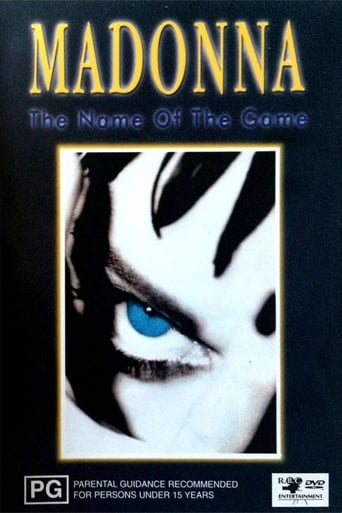 Poster of Madonna: The Name of the Game