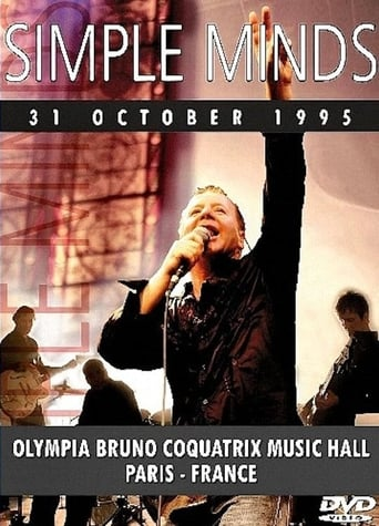 Poster of Simple Minds : Live at The Olympia