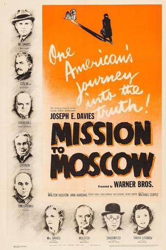 Poster of Mission to Moscow