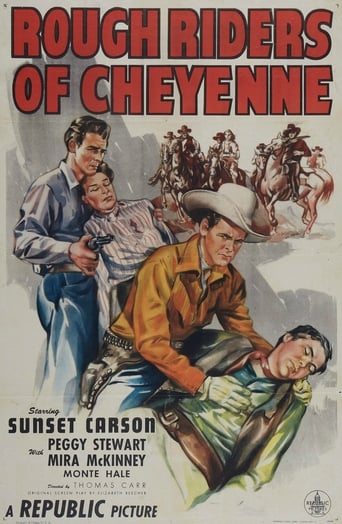 Poster of Rough Riders of Cheyenne