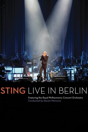 Poster of Sting: Live In Berlin