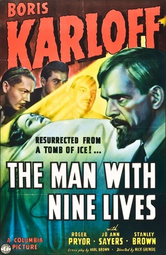Poster of The Man with Nine Lives