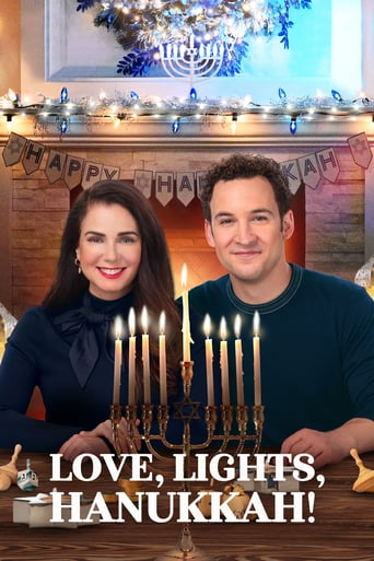 Love, Lights, Hanukkah! Poster