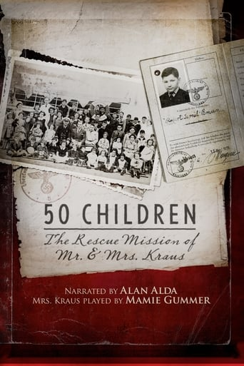 Poster of 50 Children: The Rescue Mission of Mr. and Mrs. Kraus