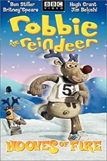 Poster of Robbie the Reindeer: Hooves of Fire