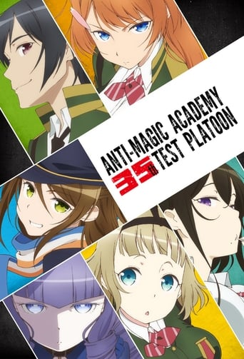 Poster of Anti-Magic Academy: The 35th Test Platoon