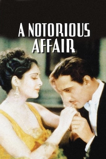 Poster of A Notorious Affair