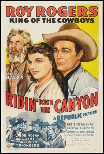 poster of Ridin' Down the Canyon