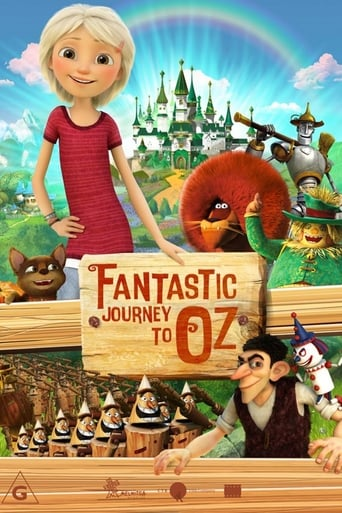 Poster of Fantastic Journey to Oz
