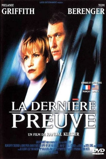 Poster of La Dernière preuve