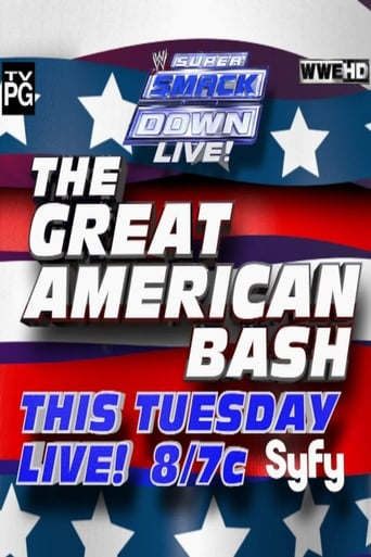 Poster of WWE Great American Bash 2012: Super Smackdown Live!