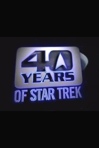 Poster of 40 Years of Star Trek