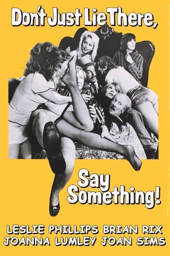 Poster of Don't Just Lie There, Say Something!
