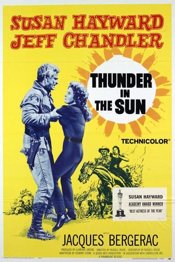 Poster of Thunder in the Sun