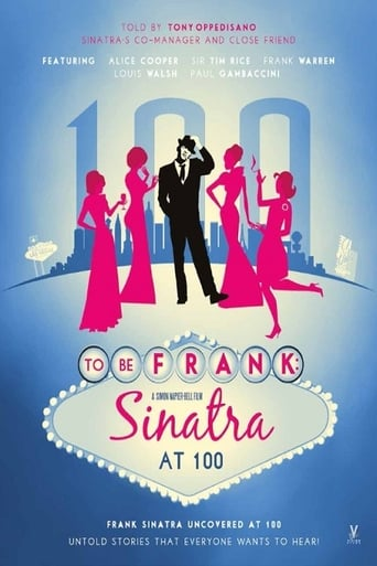 Poster of To Be Frank: Sinatra at 100