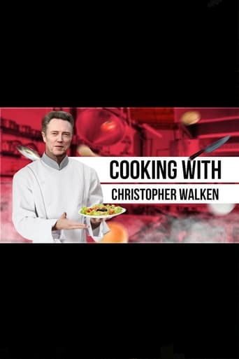 Poster of Cooking with Christopher Walken