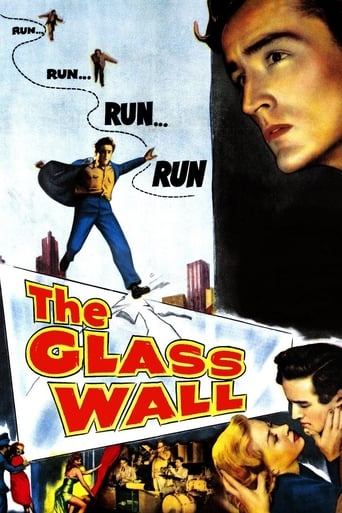 Poster of The Glass Wall