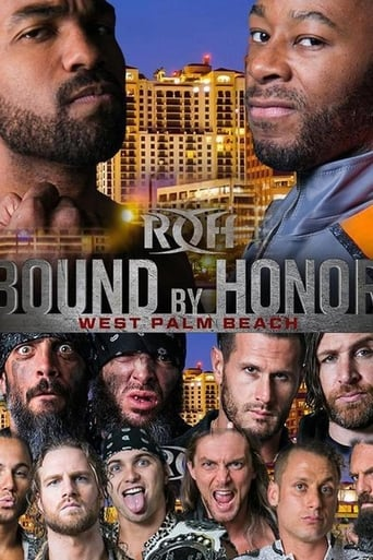 Poster of ROH Bound by Honor - West Palm Beach, FL