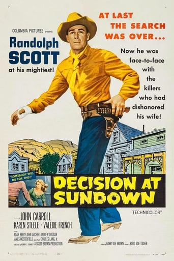 Poster of Decision at Sundown