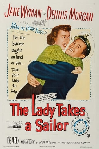 Poster of The Lady Takes a Sailor