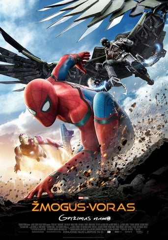 Žmogus-voras: grįžimas namo / Spider-Man: Homecoming (2017)