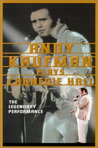 Poster of Andy Kaufman Plays Carnegie Hall