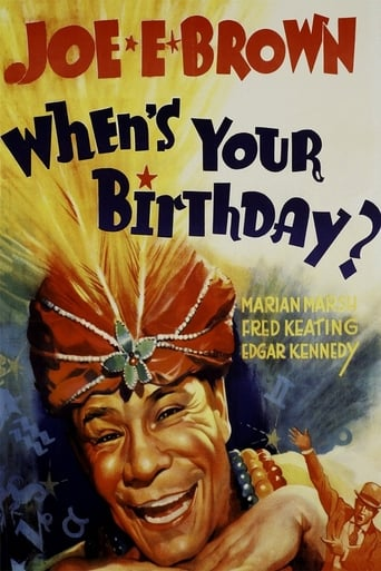 Poster of When's Your Birthday?