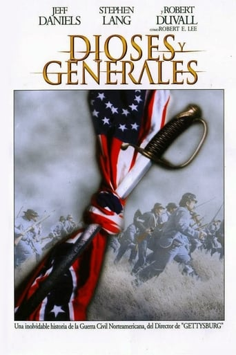 Poster of Dioses y generales