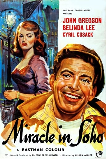 Poster of Miracle in Soho