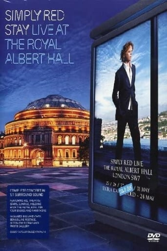 Poster of Simply Red: Stay - Live at the Royal Albert Hall