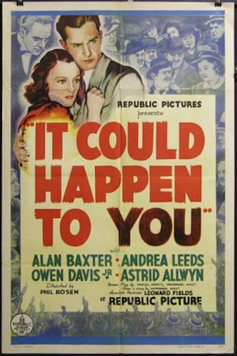 Poster of It Could Happen to You